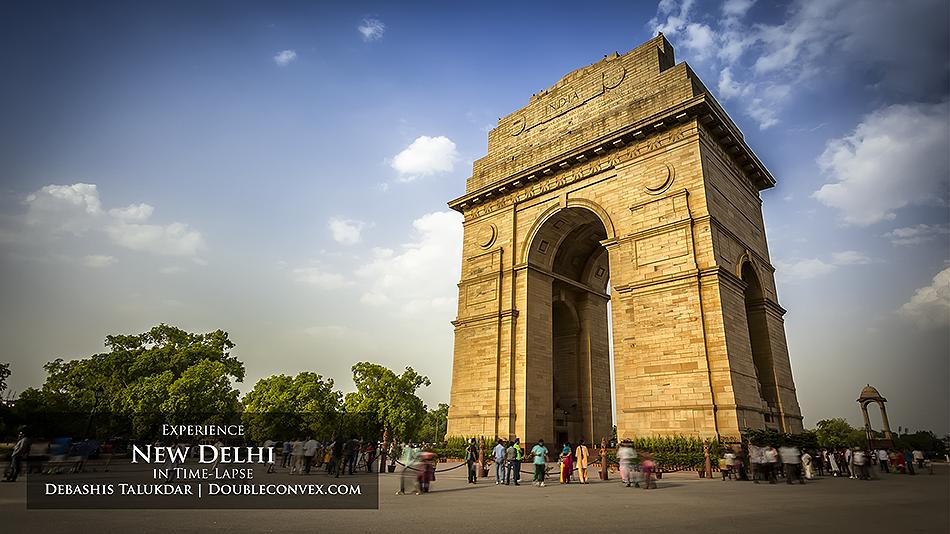 New Delhi in Time-Lapse