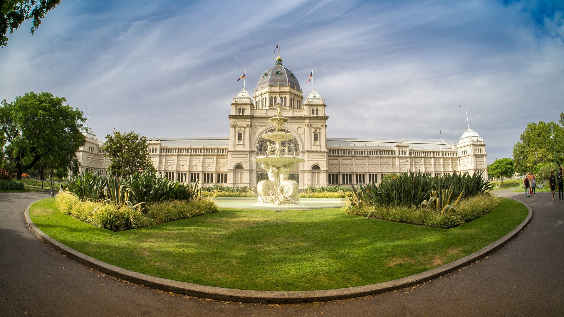 The Royal Exhibition Building - Fish-Eye