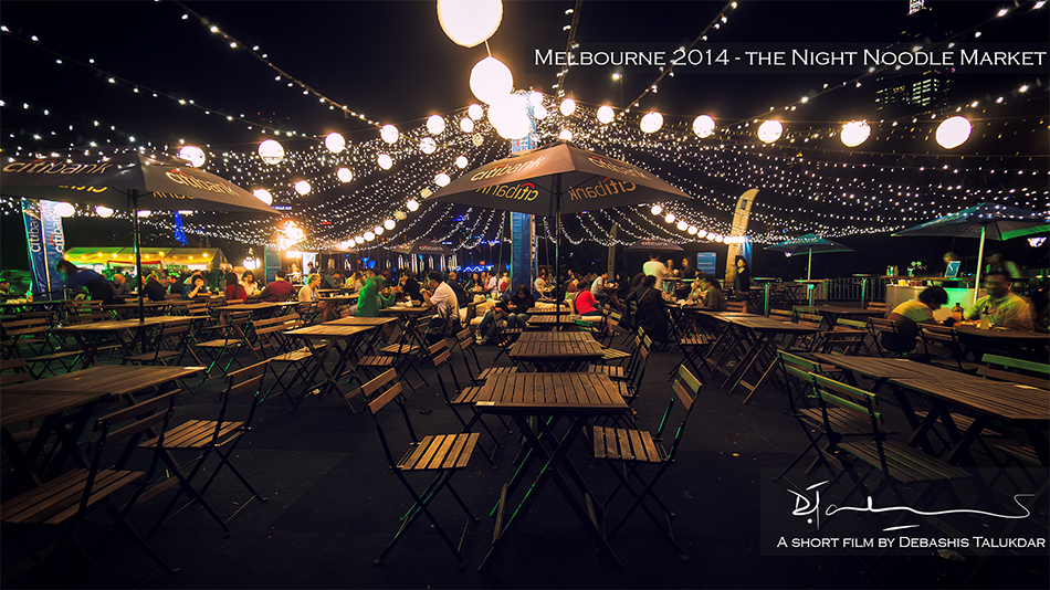 From Melbourne: The Night Noodle Markets in time-lapse (2014)