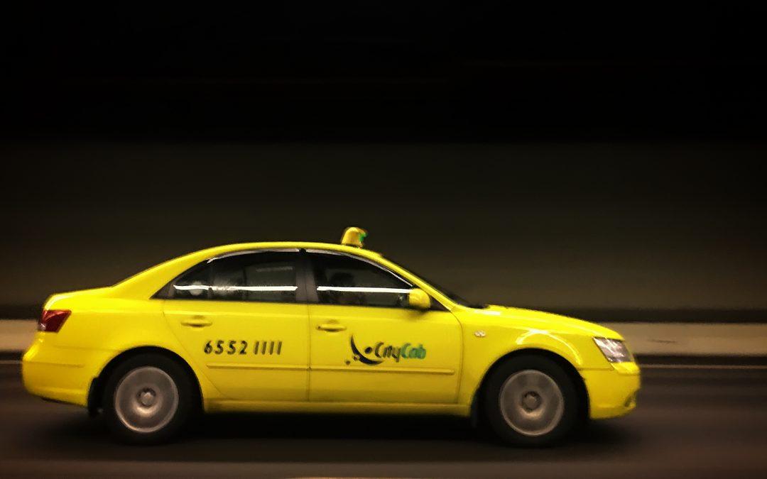 Cab rides in Singapore