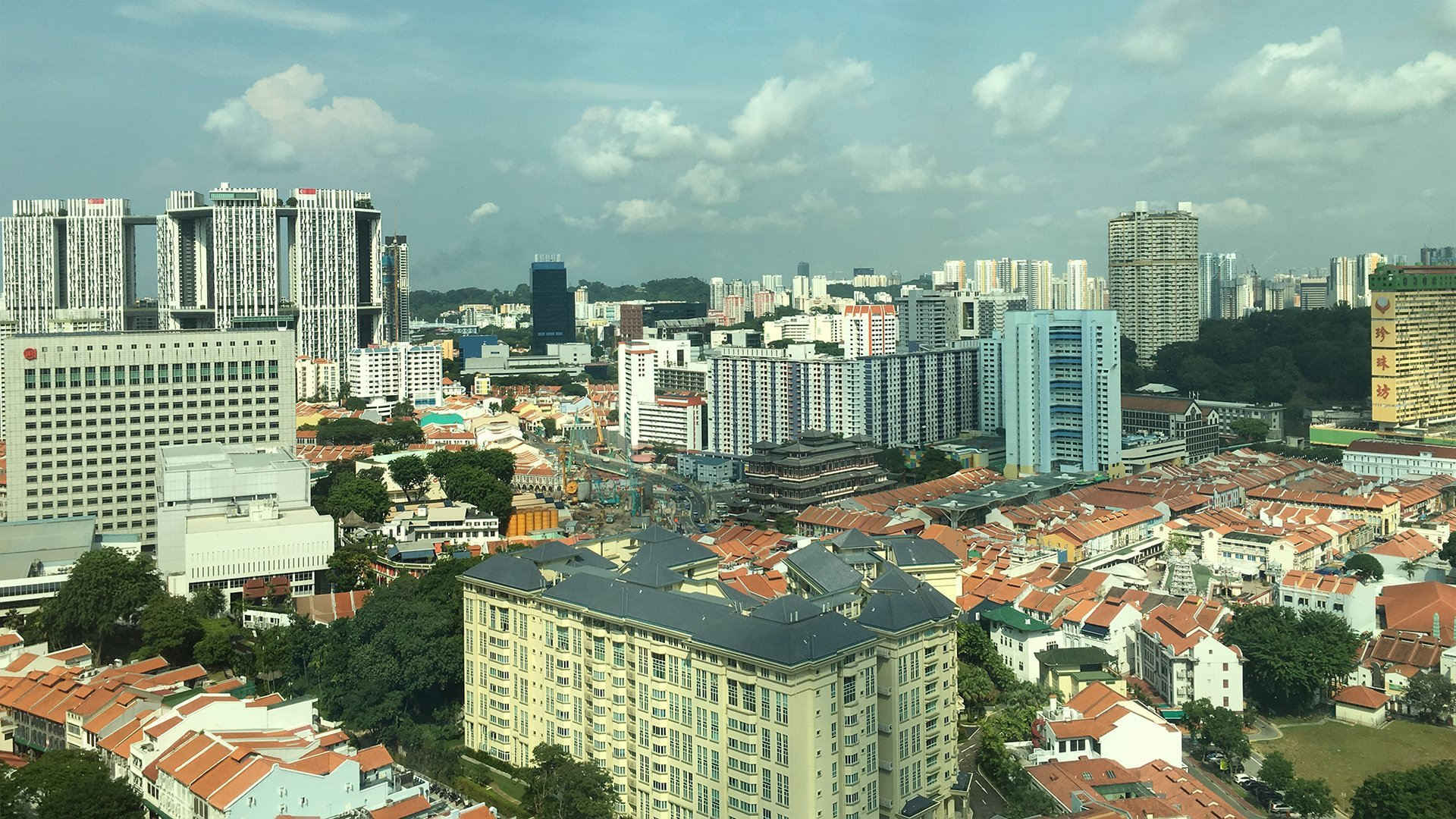 Singapore-on-a-clear-day