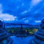 Borobudur in Time Lapse