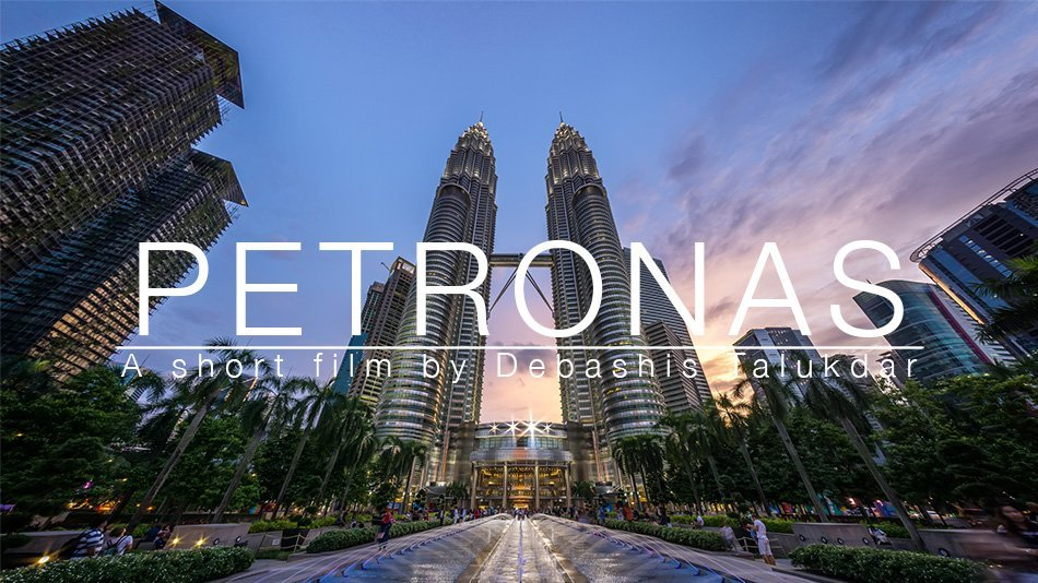 The Petronas Twin Towers in Time Lapse