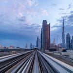 Riding the Dubai Metro