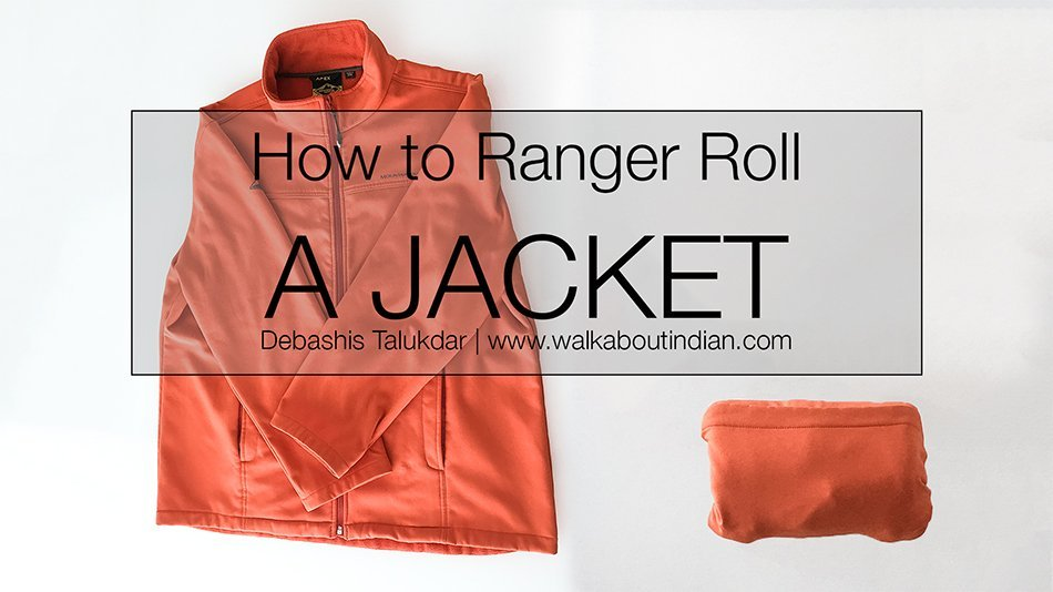 How to Ranger Roll a Jacket