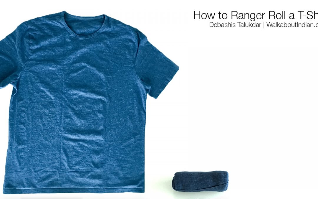 How to Ranger Roll a T-Shirt