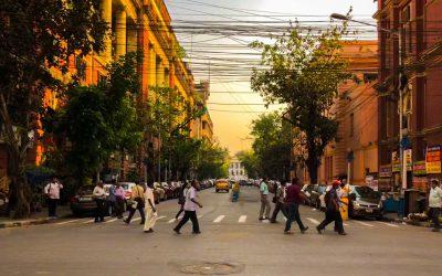 A day running errands in Kolkata