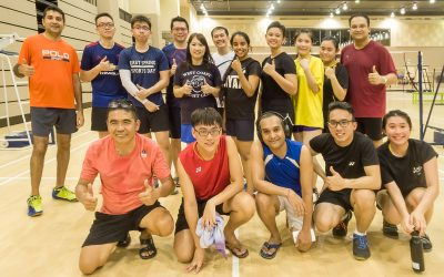 Promotional video for Badminton and Bowling Fanatics