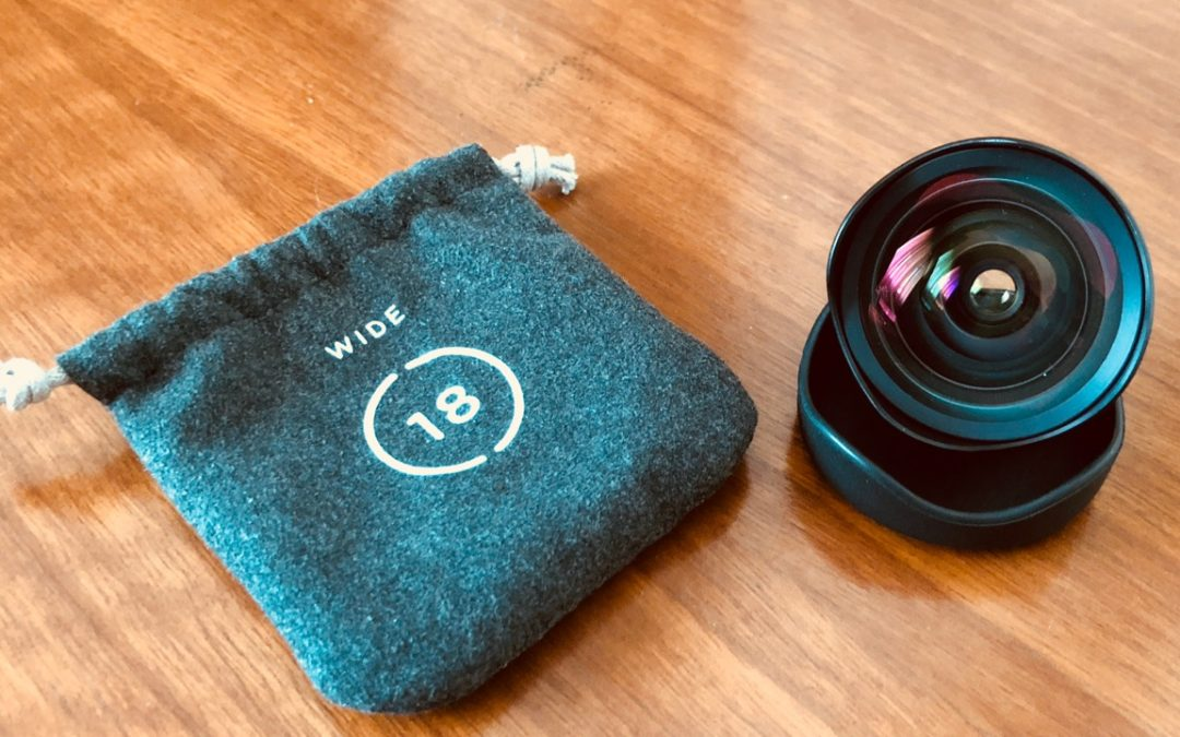 The Moment Wide Angle Lens – first thoughts