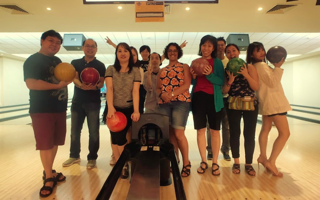 Bowling at Planet Bowl