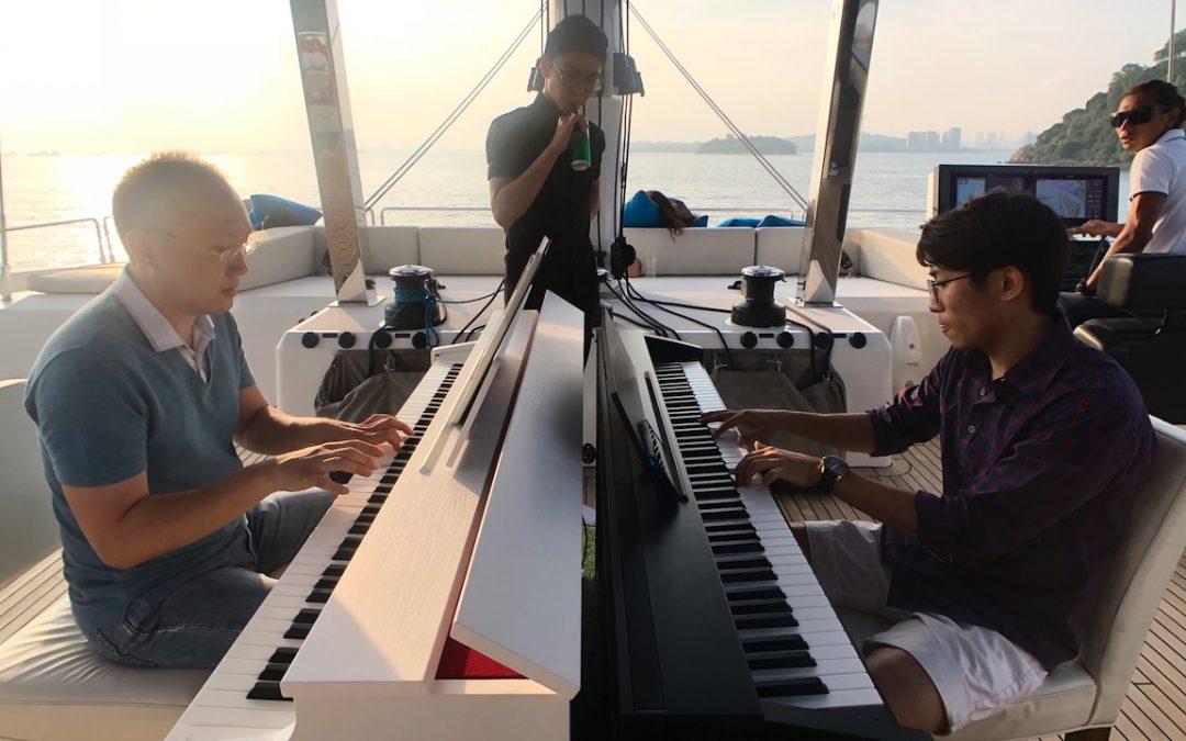 Pianos on the High Seas