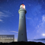 Split Point Lighthouse in Time-Lapse