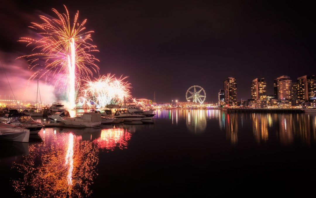 Docklands (Winter Fireworks)