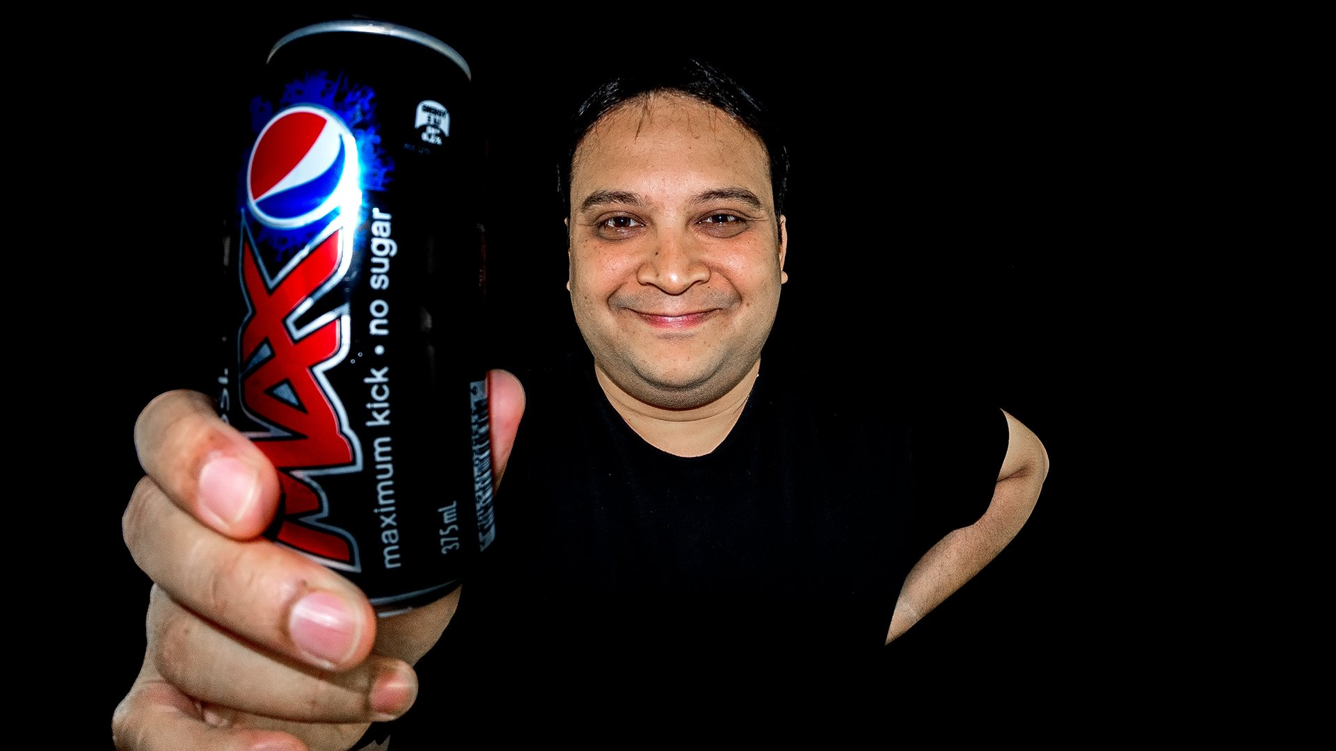 Pepsi Max Product Portrait Demo