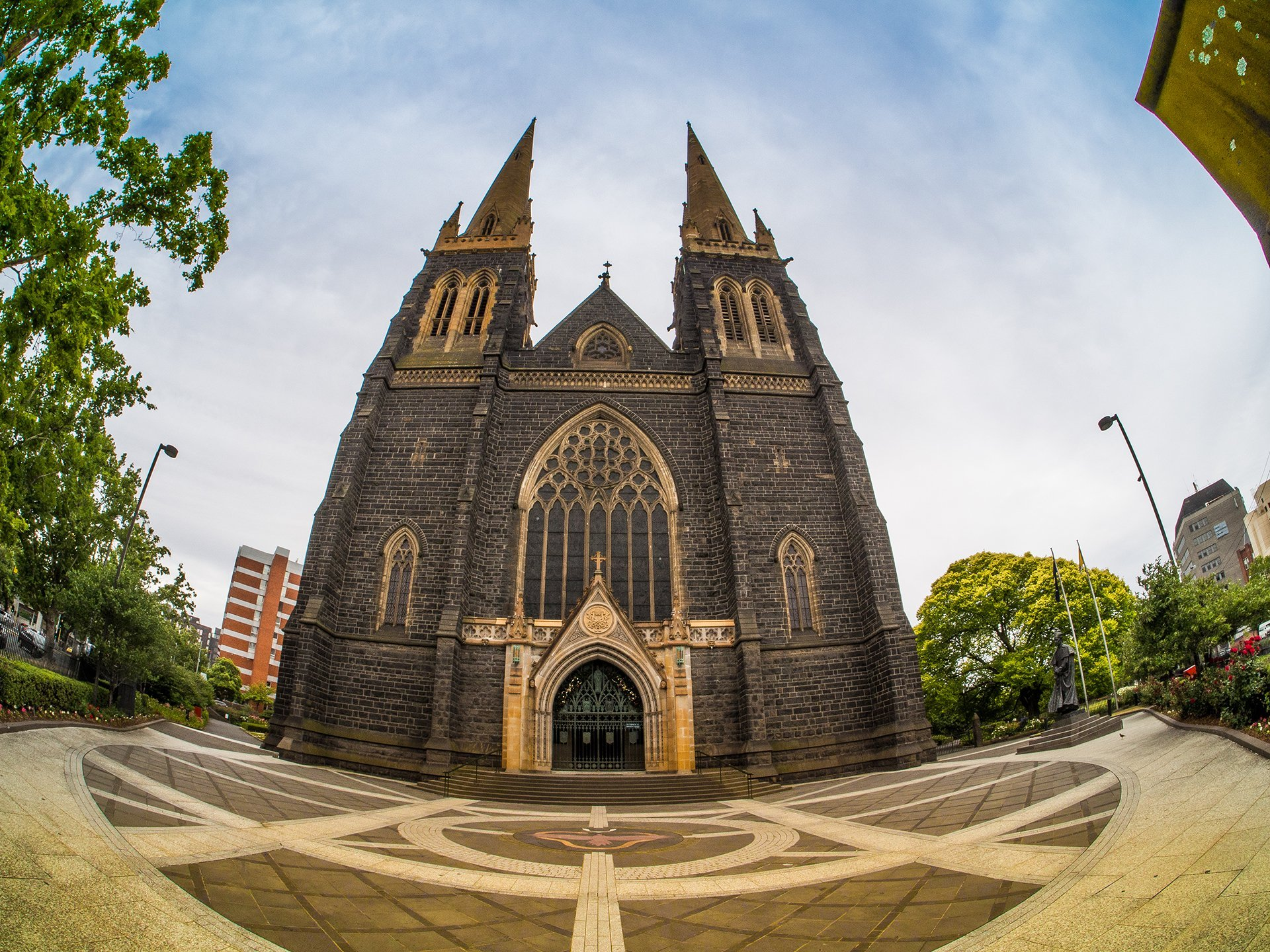 St. Patricks - Fish-Eye