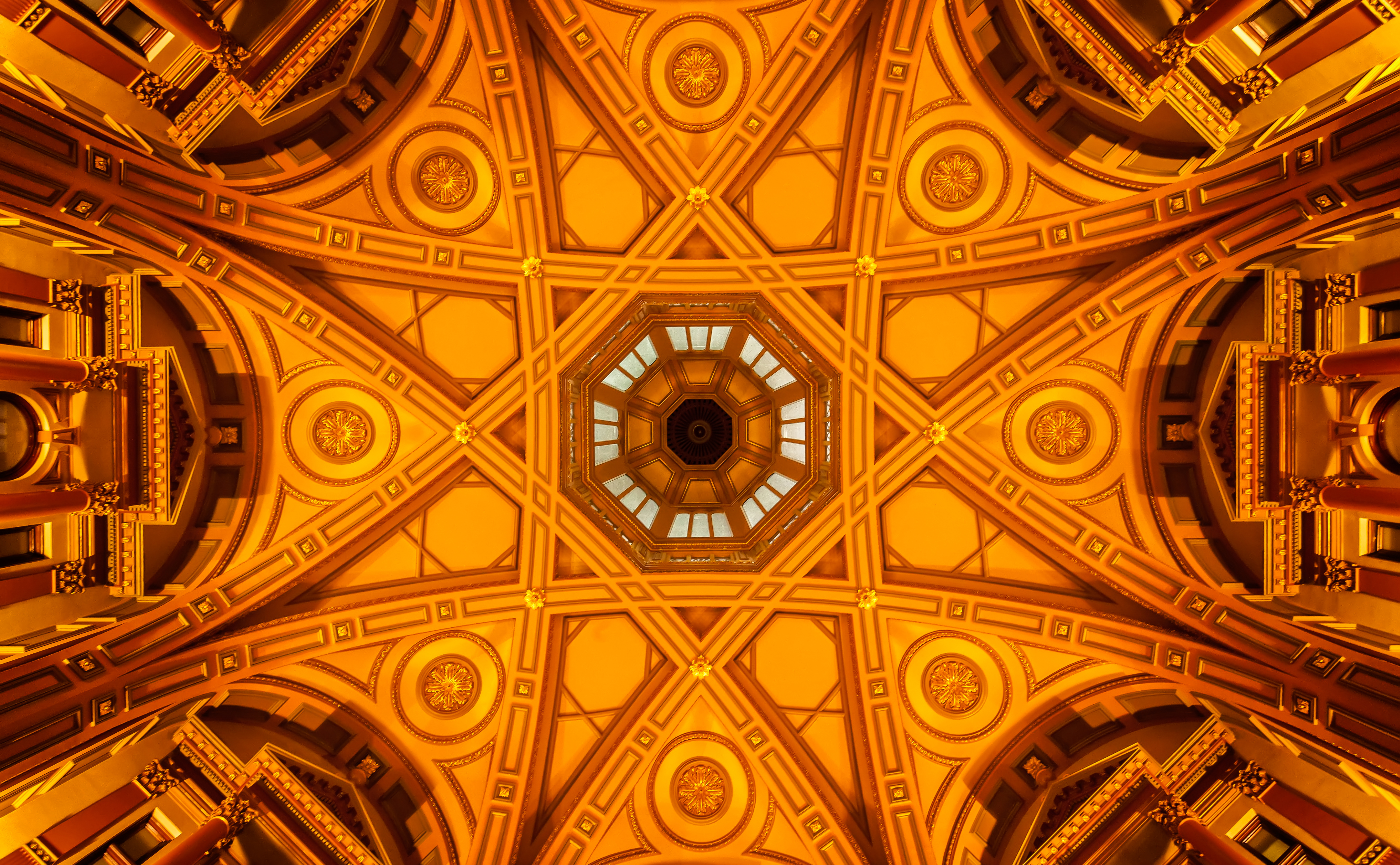 The Ceiling of the Dome of 333 Collins Street