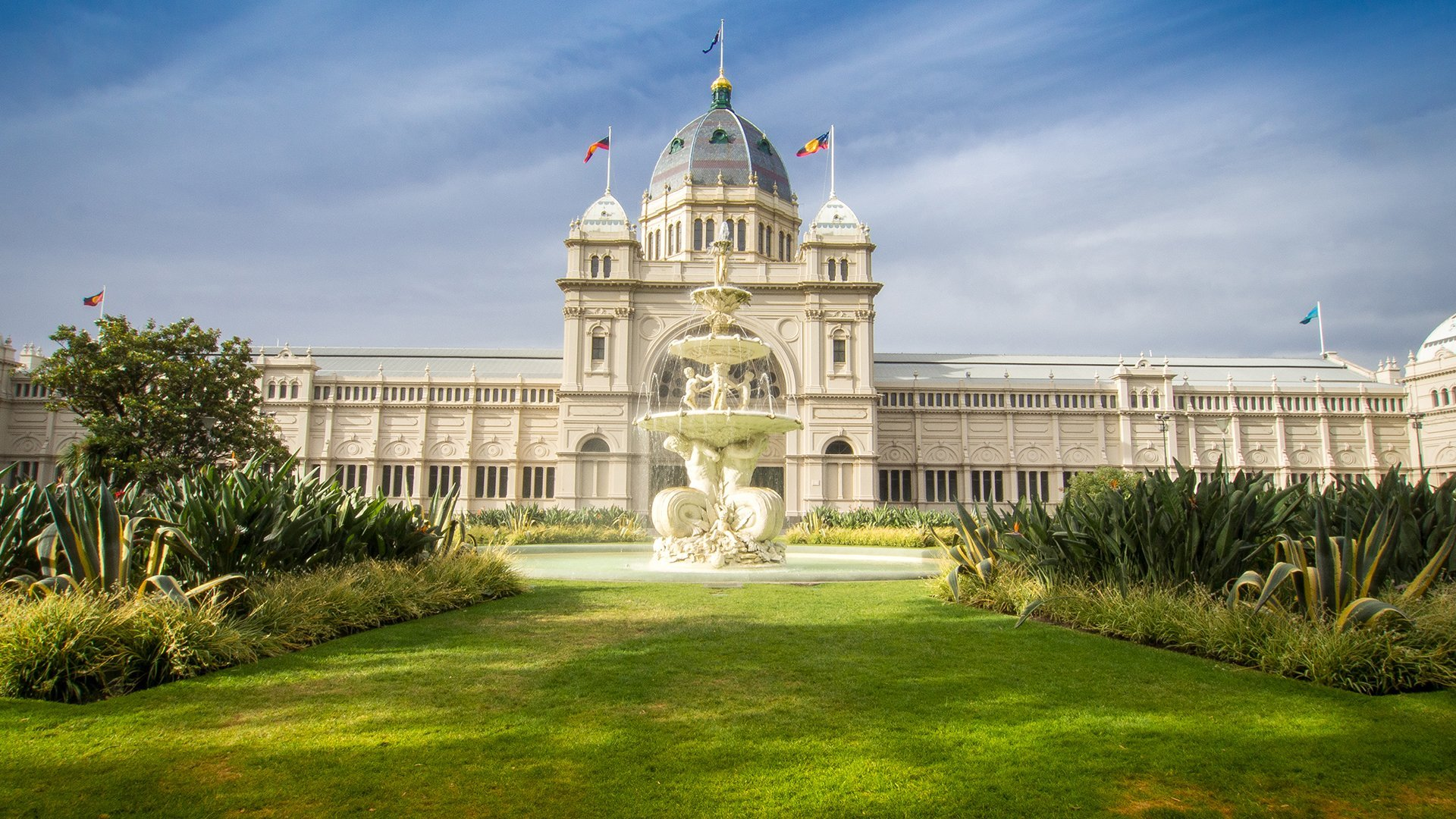 The Royal Exhibition Building - Wide-Angle