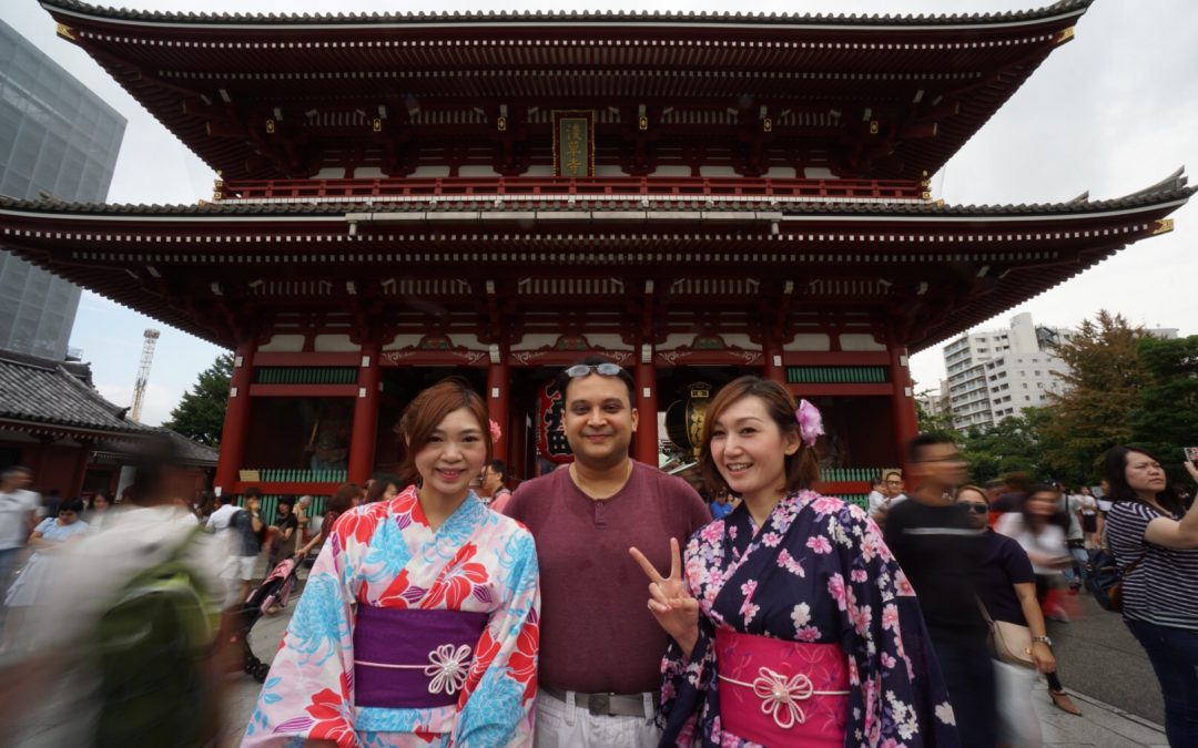 My trip to Japan in Autumn 2016