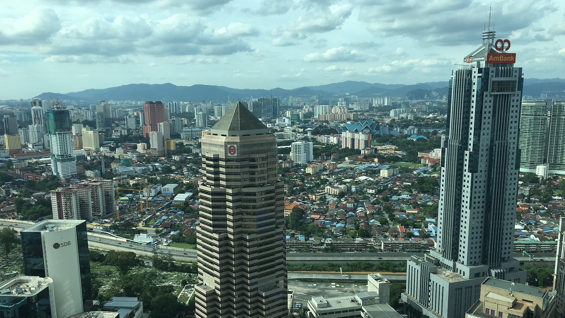 KL from Petronas 02