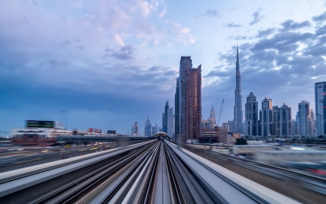 Riding the Dubai Metro