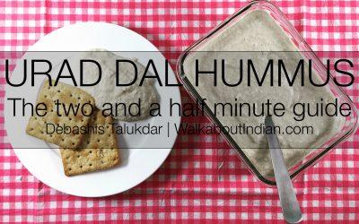 Urad Dal Hummus