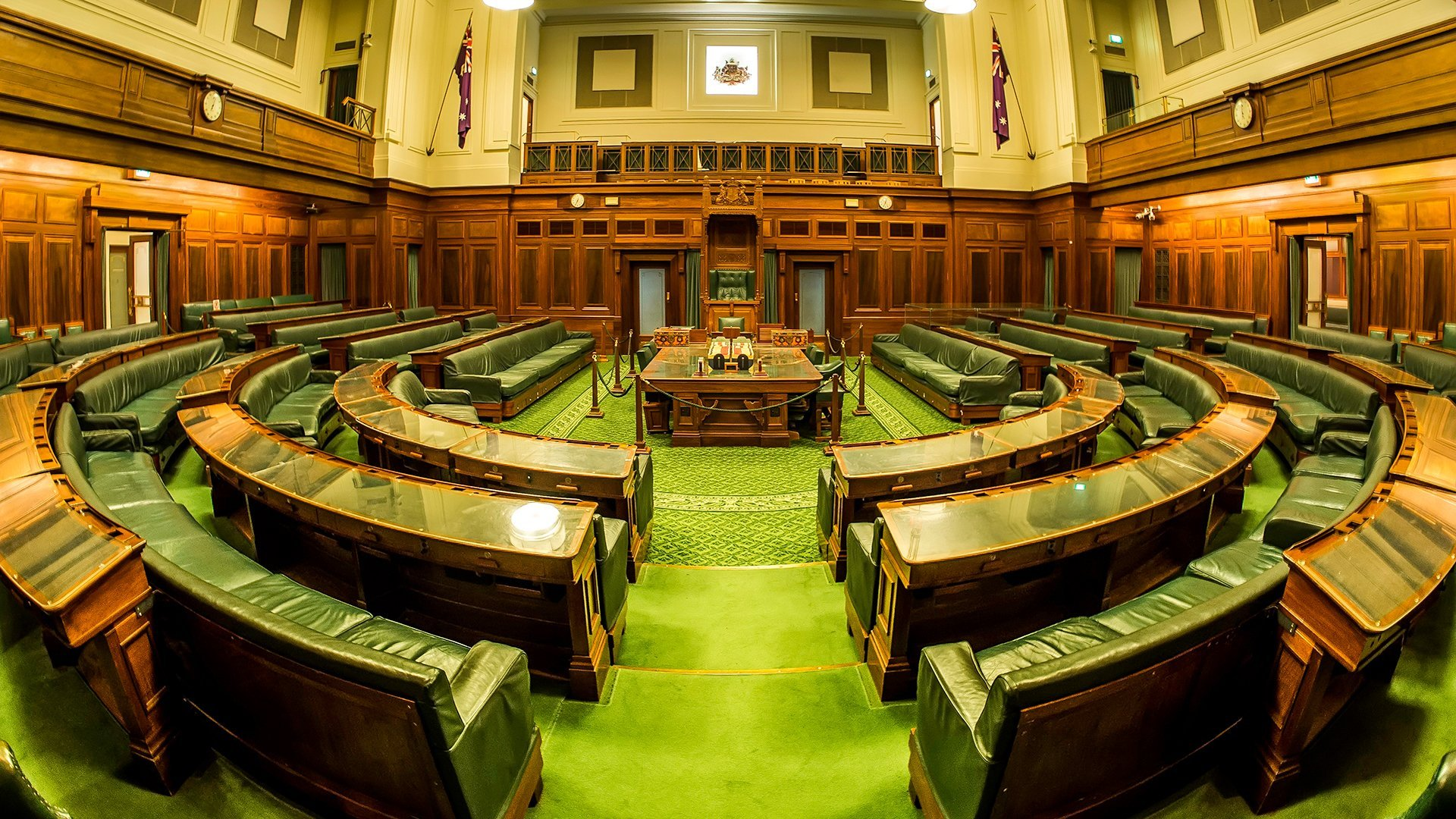 House - the House of Representatives - Fish-Eye