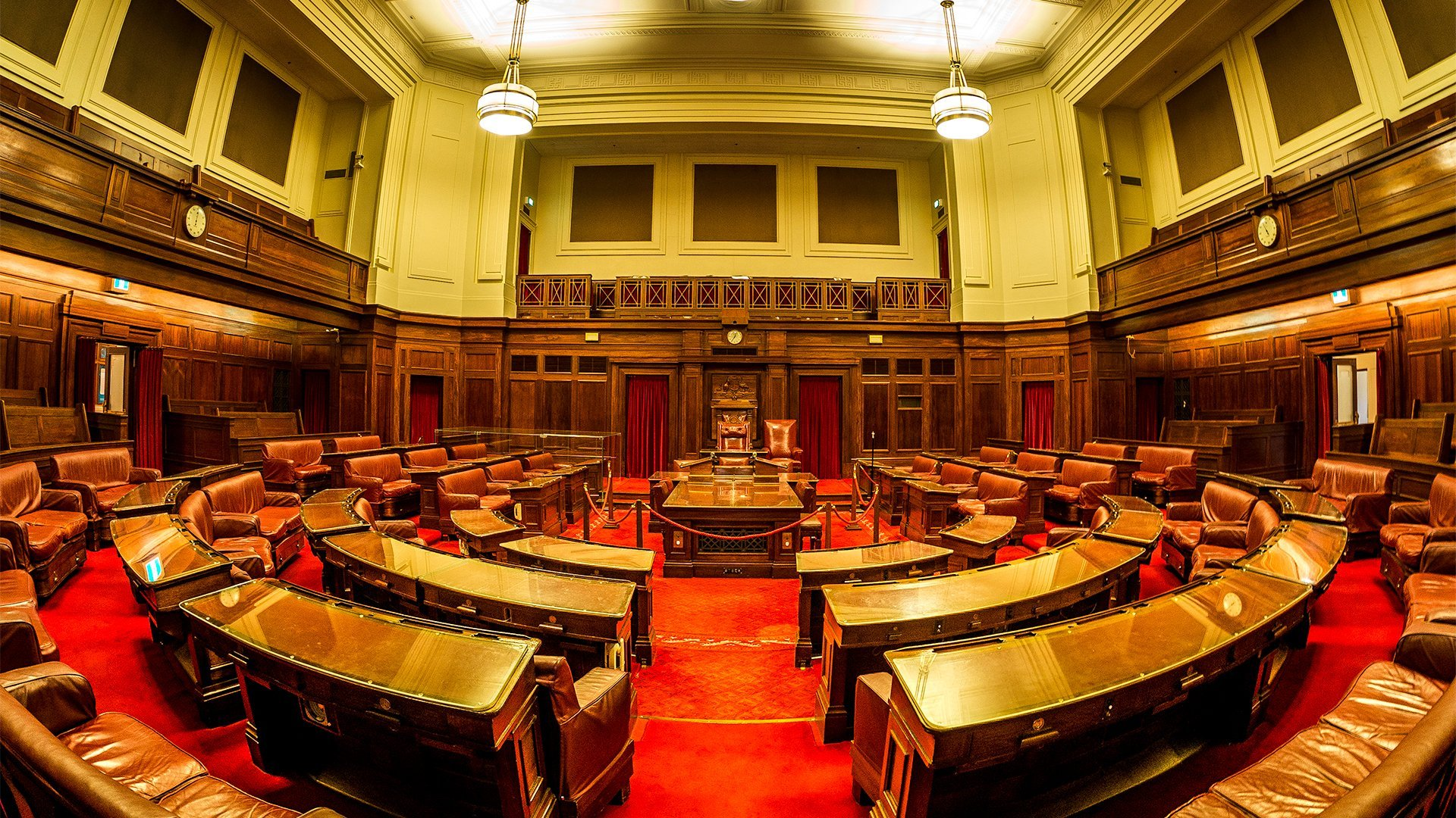 Old Parliament House - The Senate - Fisheye