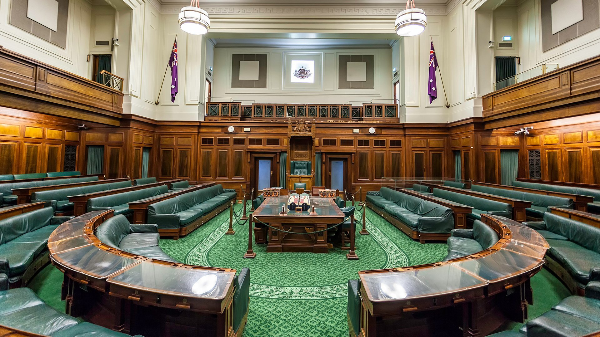 Old Parliament House - the House of Representatives - Wide-Angle