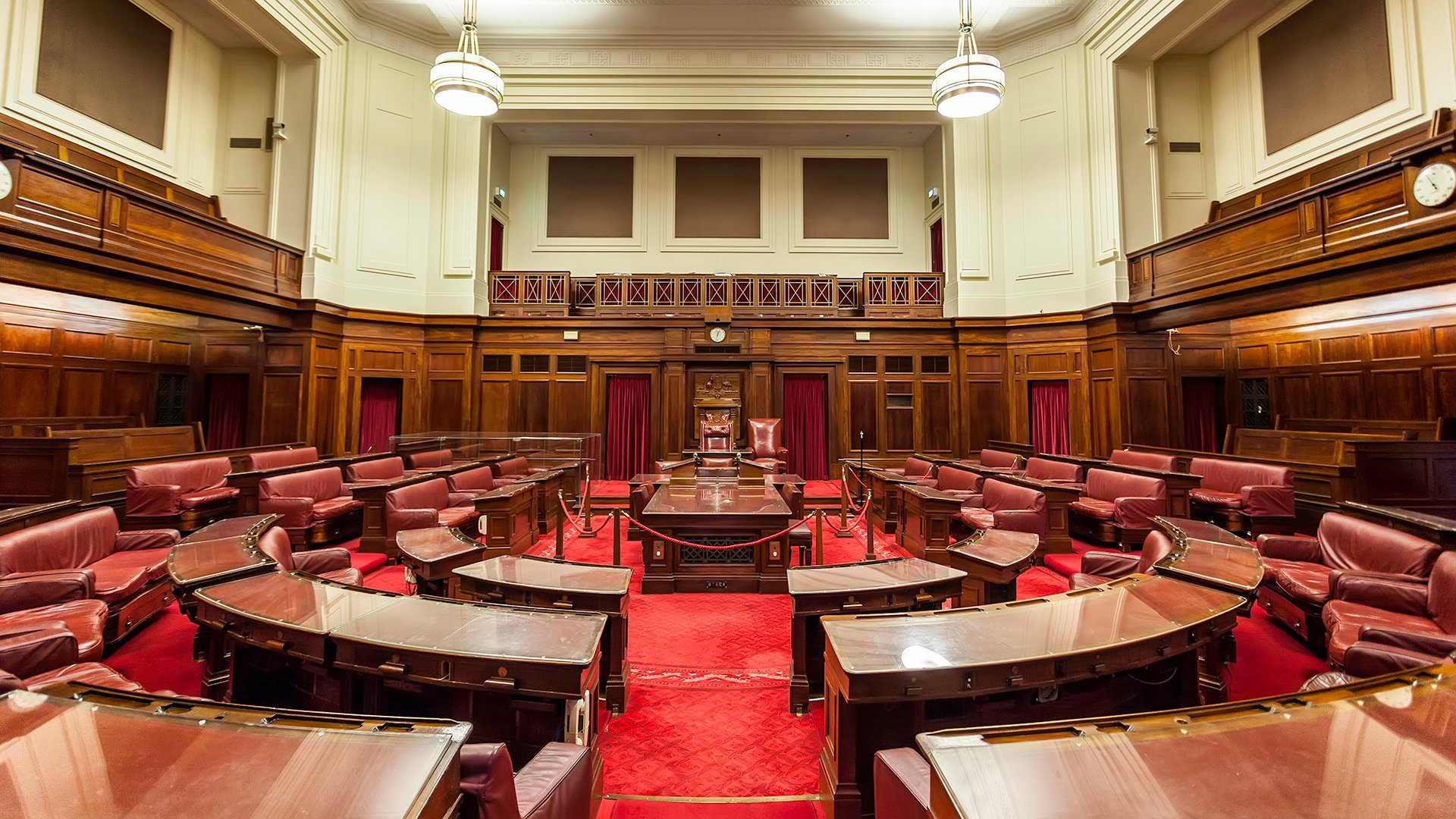 Old Parliament House - the Senate - Wide-Angle