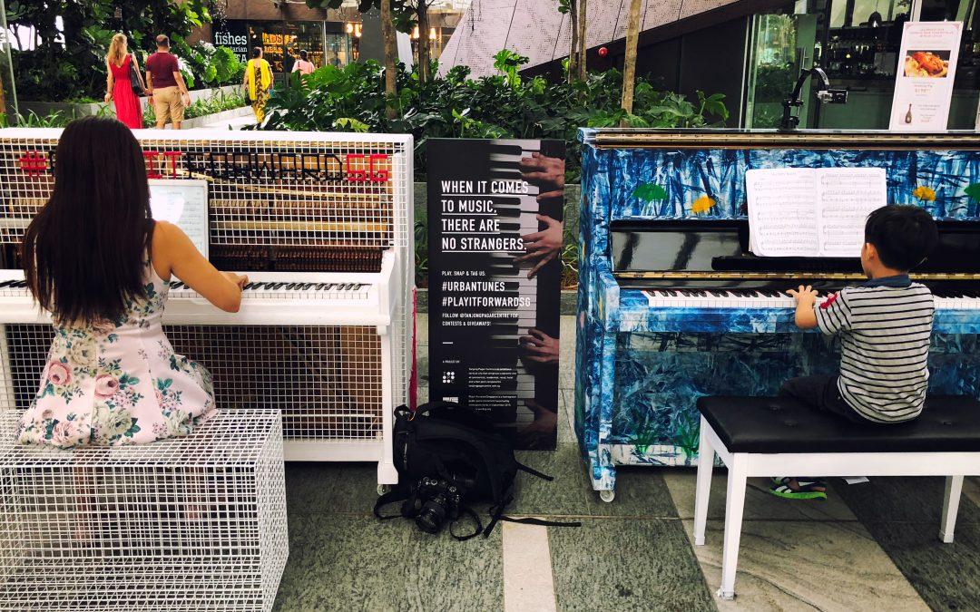 "Performing ""Smells Like Teen Spirit"" at the Tanjong Pagar Centre"